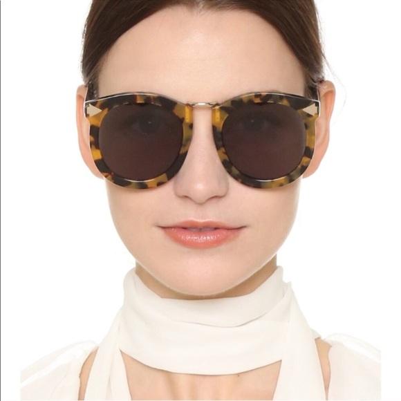 2b5ad4fd1fd Karen Walker Accessories - Karen Walker Super Lunar Crazy Tort Sunglasses